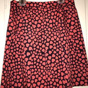 J Crew skirt and shirt